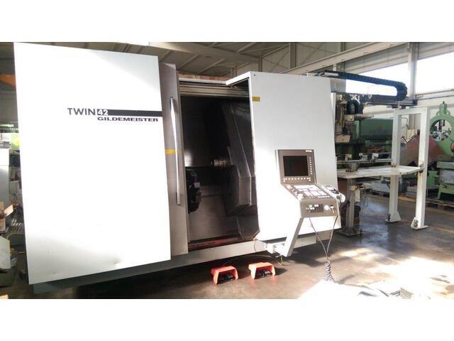 További képek Esztergagép DMG Twin 42