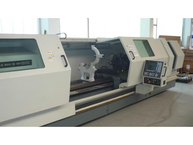 További képek Esztergagép DMTG CKE 6180Z x 4.000 mm
