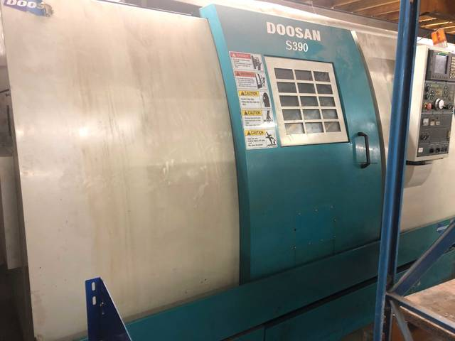 További képek Esztergagép Doosan S390L
