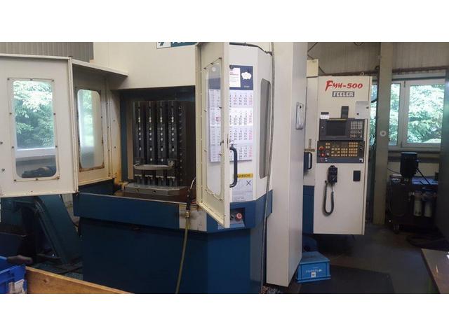 További képek Marógép Feeler FMH 500, Gyárt. é.  2004