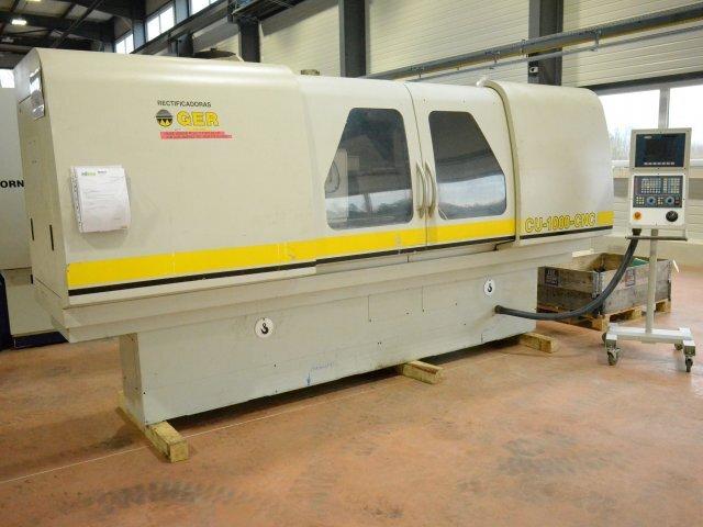 További képek Köszörűgép GER CU 1000 CNC