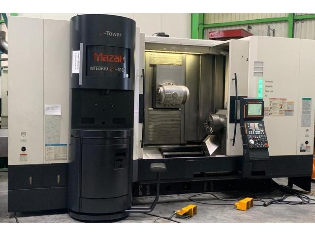 További képek Esztergagép Mazak Integrex e-410 HS multi tasking
