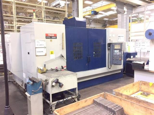 További képek Marógép Mazak VTC 300 C, Gyárt. é.  2001