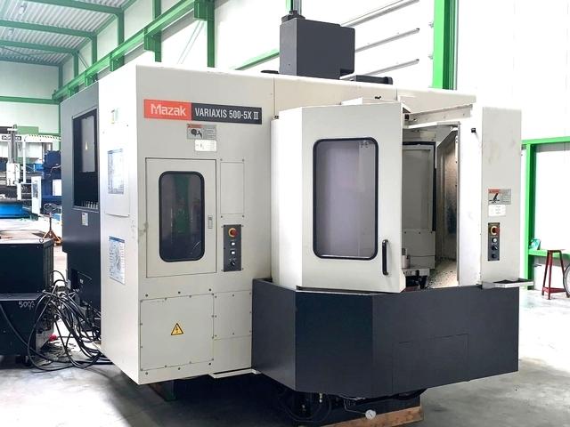 További képek Marógép Mazak Variaxis 500 - 5 II, Gyárt. é.  2007