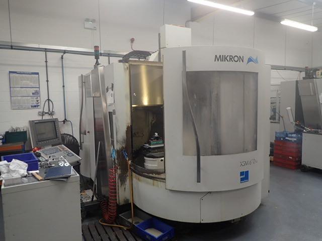 További képek Marógép Mikron XSM 600 U  7 apc, Gyárt. é.  2006