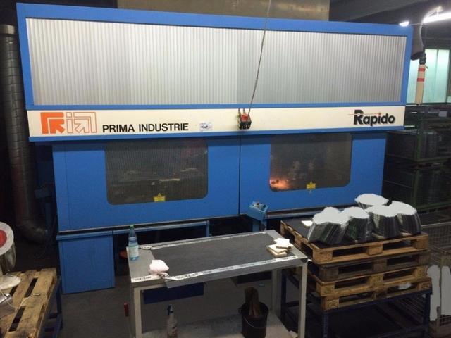 További képek Prima Industrie 3D Rapido 5 Lézeres vágógépek