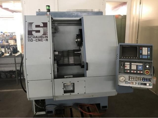 További képek Esztergagép Schaublin 110 CNC R