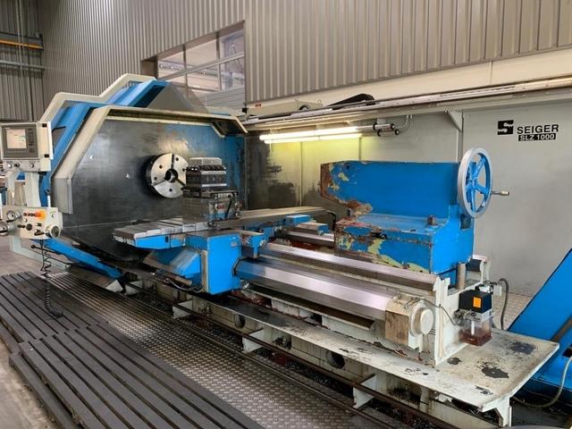 További képek Esztergagép Seiger SLZ 1000 x 2000