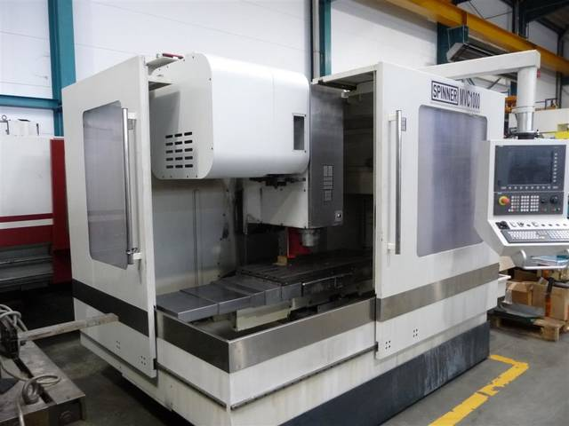 További képek Marógép Spinner MVC 1000, Gyárt. é.  2011