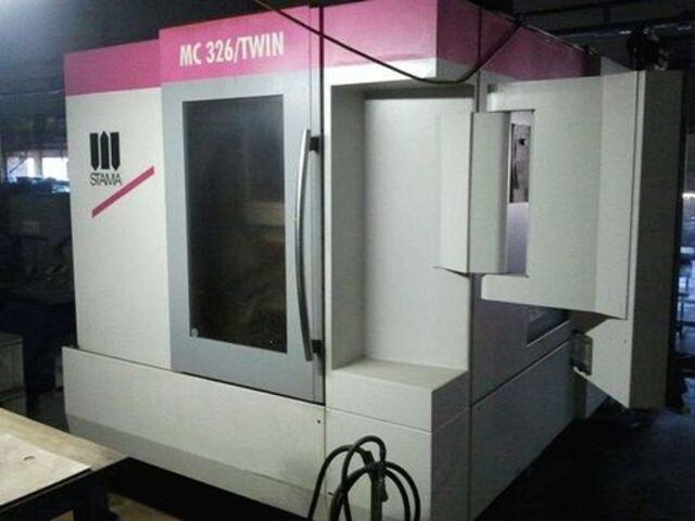 További képek Marógép Stama MC 326 Twin 2 x schwenkrundt., Gyárt. é.  2013
