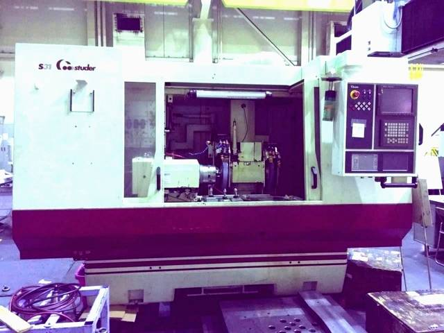 További képek Köszörűgép Studer S 31 universal full +B axis + C axis rebuilt
