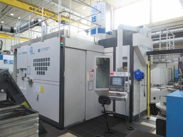 További képek Marógép Unisign Unicom 6000, Gyárt. é.  2012