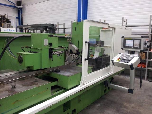 További képek Köszörűgép Voumard 400 CNC