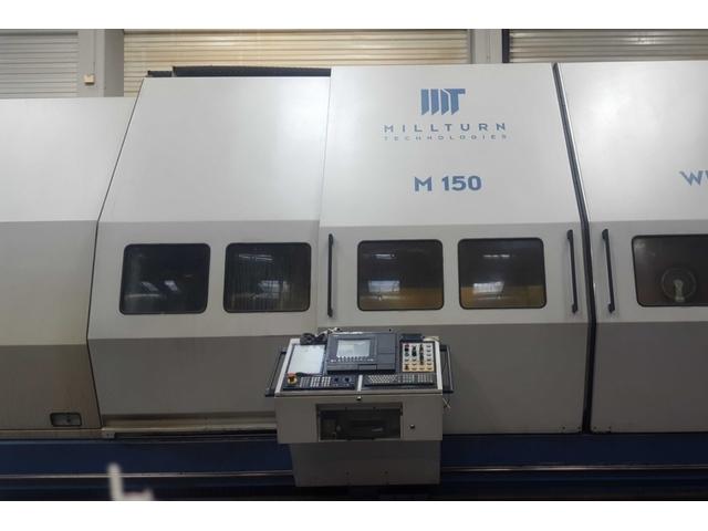 További képek Esztergagép WFL M 150 / 6500