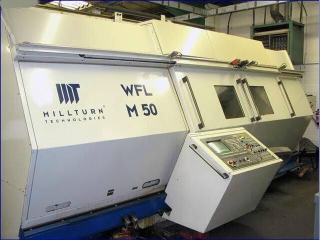 További képek Esztergagép WFL Millturn M 50