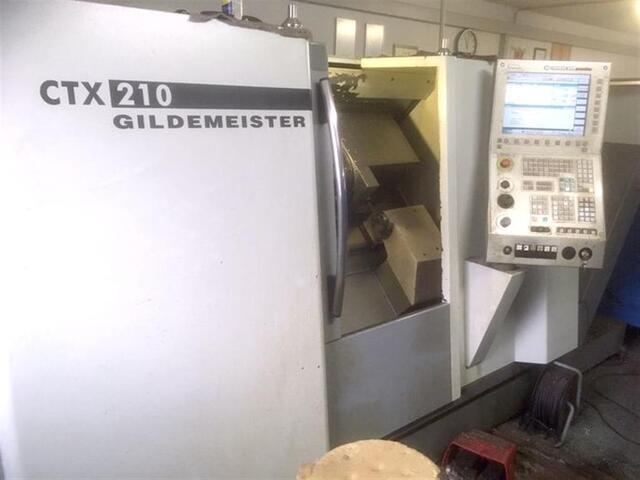 További képek Esztergagép DMG CTX 210 V3