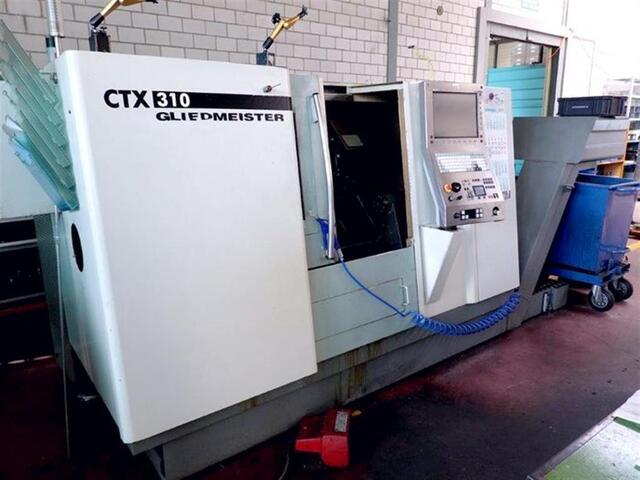 További képek Esztergagép DMG CTX 310 V1