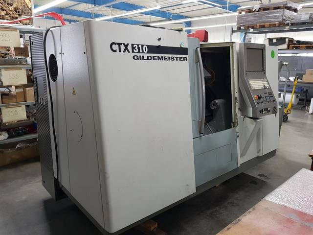 További képek Esztergagép DMG CTX 310 V3