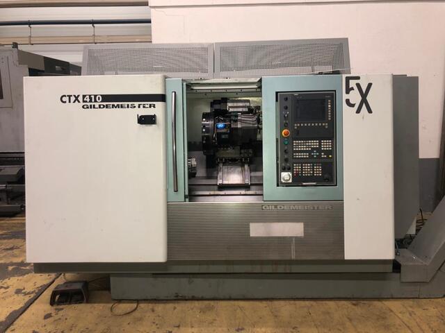 További képek Esztergagép DMG CTX 410 V3
