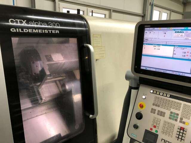 További képek Esztergagép DMG CTX alpha 300