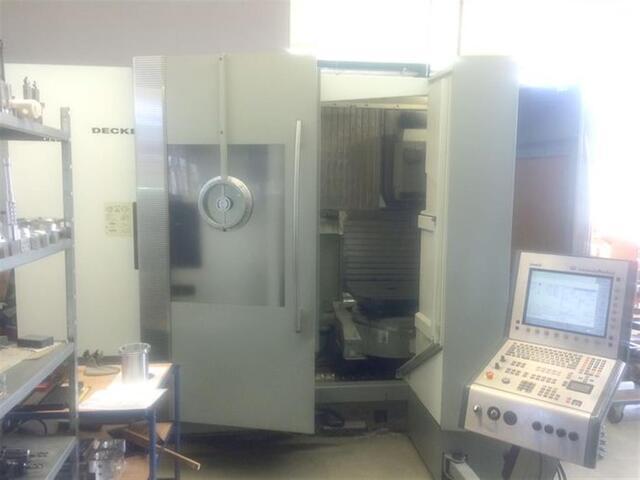 További képek Marógép DMG DMC 60 T, Gyárt. é.  2007