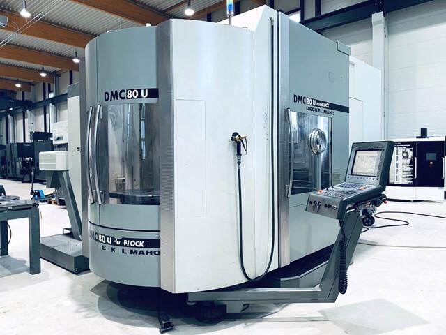 További képek Marógép DMG DMC 80 U doublock  240 Wz., Gyárt. é.  2006