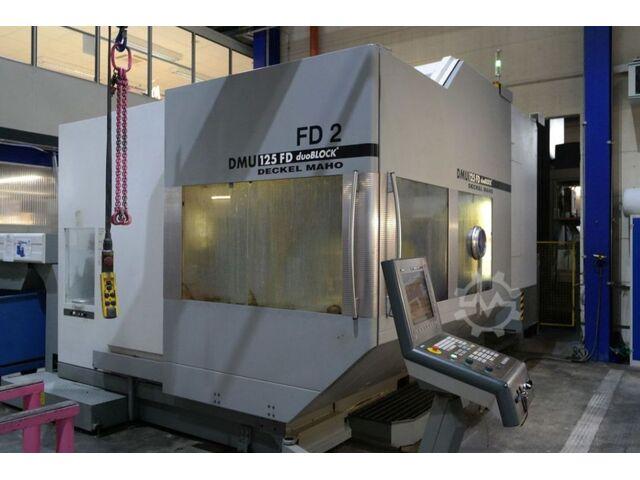 További képek Marógép DMG DMU 125 FD 2 duoblock , Gyárt. é.  2007