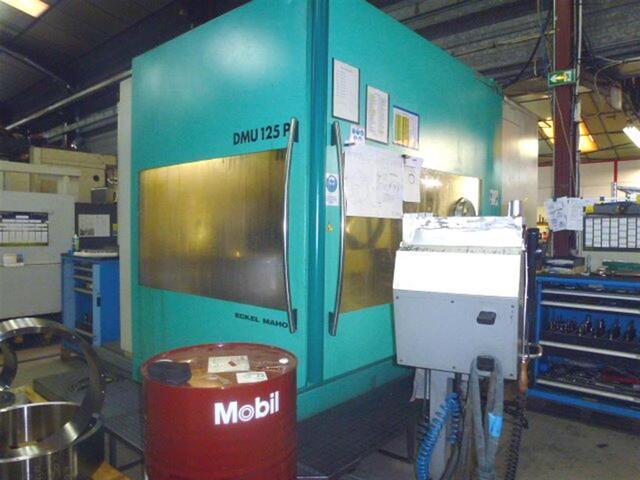 További képek Marógép DMG DMU 125 P hidyn, Gyárt. é.  1999