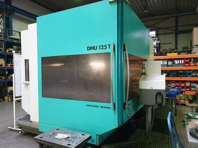 További képek Marógép DMG DMU 125 T, Gyárt. é.  1999