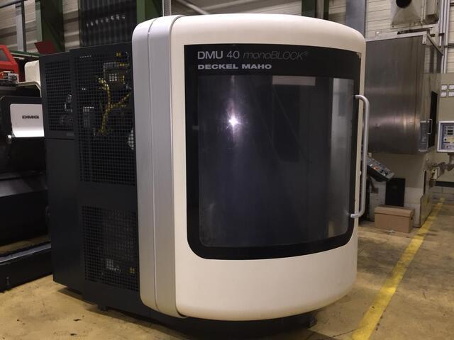 További képek Marógép DMG DMU 40 monoBlock, Gyárt. é.  2008