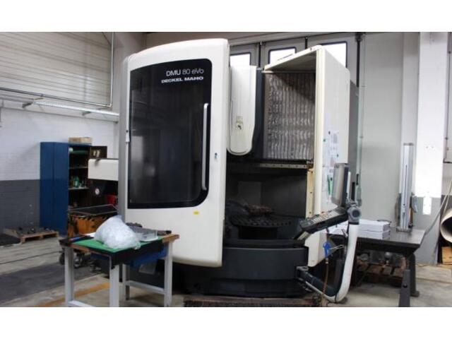 További képek Marógép DMG DMU 80 evo, Gyárt. é.  2013