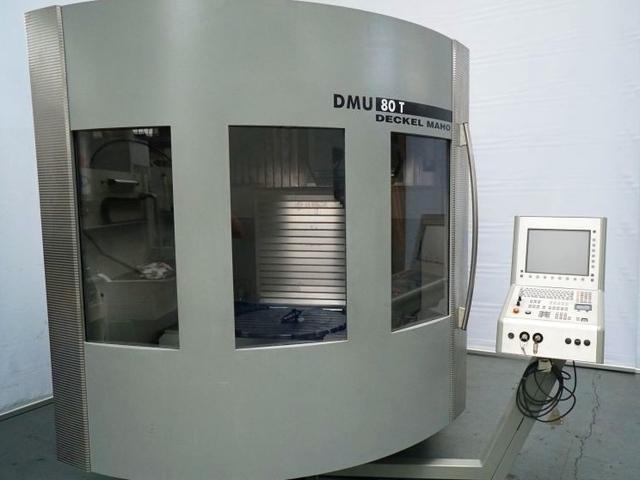 További képek Marógép DMG DMU 80 T