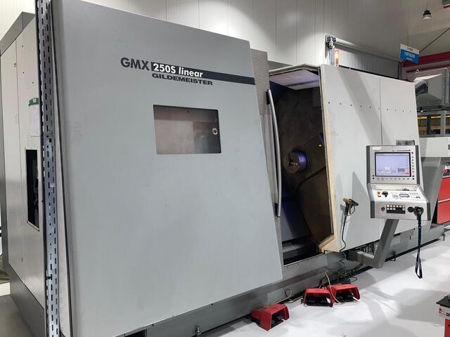További képek Esztergagép DMG GMX 250 S linear