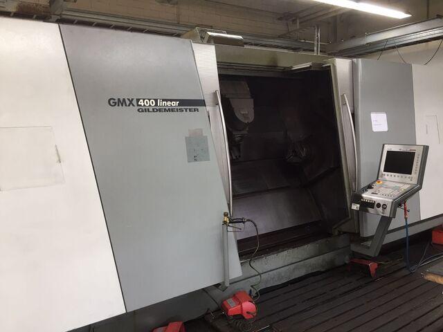 További képek Esztergagép DMG GMX 400 Linear