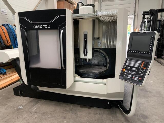 További képek Marógép DMG Mori CMX 70 U , Gyárt. é.  2017
