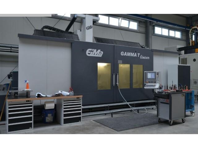 További képek EIMA Gamma T linear portál marógép