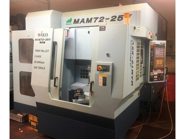 További képek Marógép Matsuura MAM 72 25V