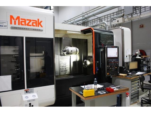 További képek Esztergagép Mazak integrex i 400 S  1.500 U