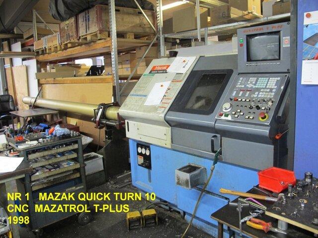 További képek Esztergagép Mazak QT 10
