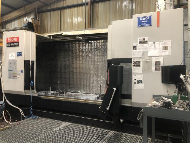 További képek Marógép Mazak VTC 800 / 30 SR, Gyárt. é.  2009
