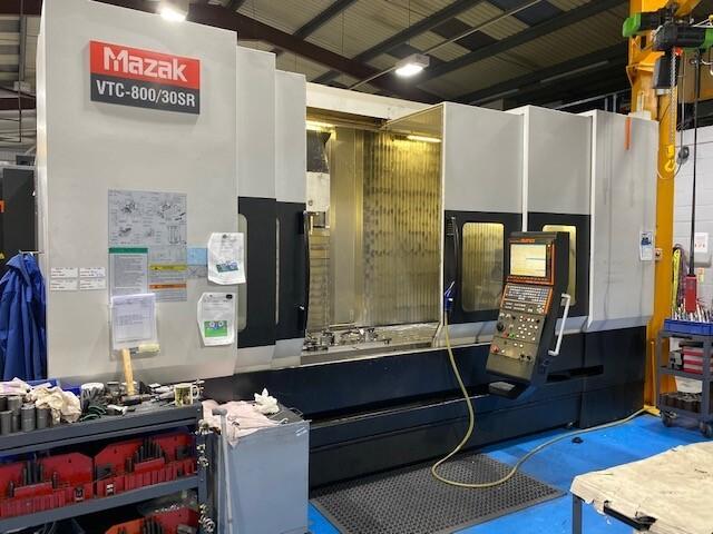 További képek Marógép Mazak VTC 800 / 30 SR, Gyárt. é.  2008
