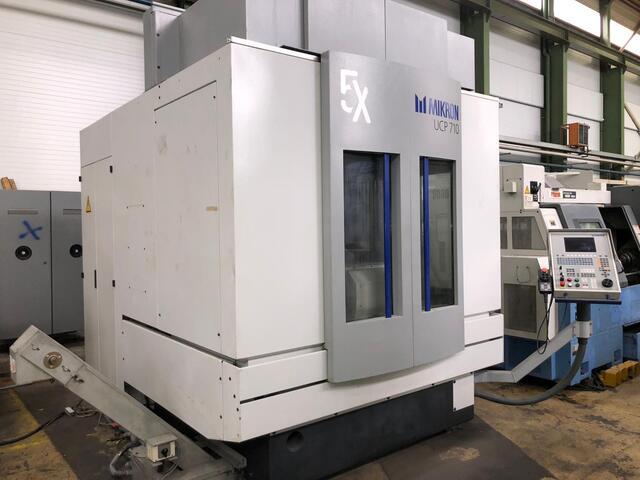 További képek Marógép Mikron UCP 710, Gyárt. é.  2000