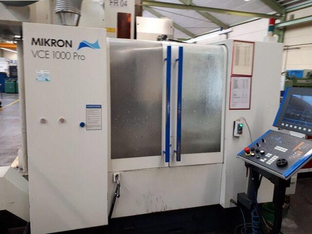 További képek Marógép Mikron VCE 1000 Pro, Gyárt. é.  2002
