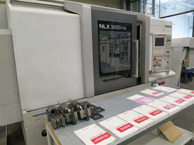 További képek Esztergagép Mori Seiki NL 3000 Y