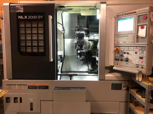 További képek Esztergagép Mori Seiki NLX 2000 SY