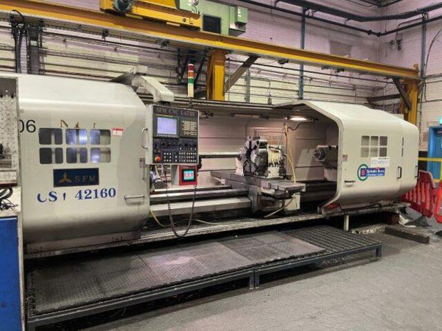 További képek Esztergagép SFM CST 42160