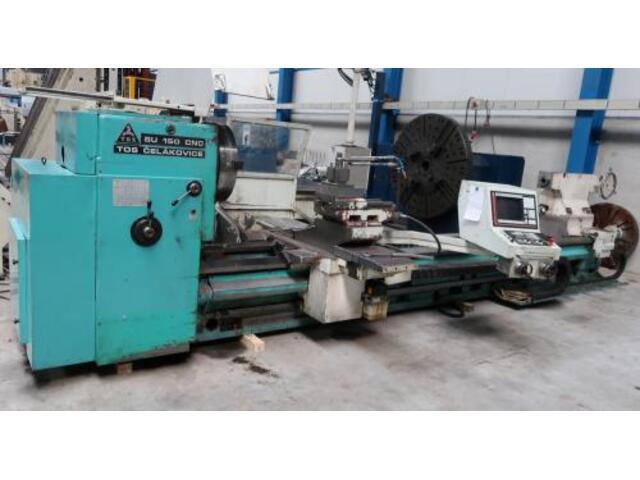 További képek Esztergagép TOS SU 150 CNC 5000