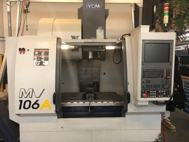 További képek Marógép YCM MV106A